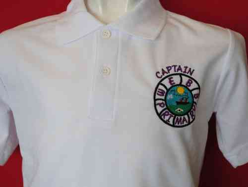 Captain Webb WHITE Polo