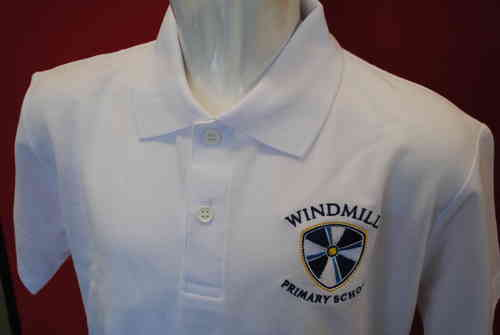 Windmill Polo White
