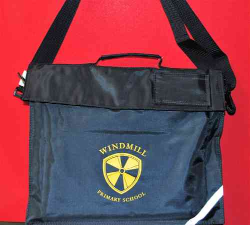 Windmill Book Bag with Shoulder Strap