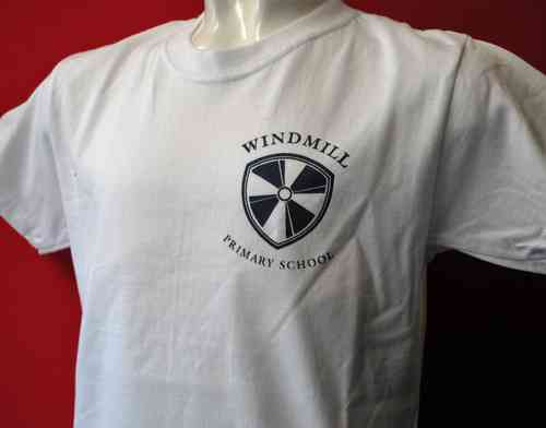 Windmill PE T Shirt - White