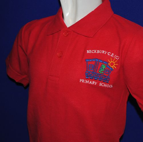 Beckbury Red Polo